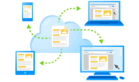 Duomenų saugykla internete