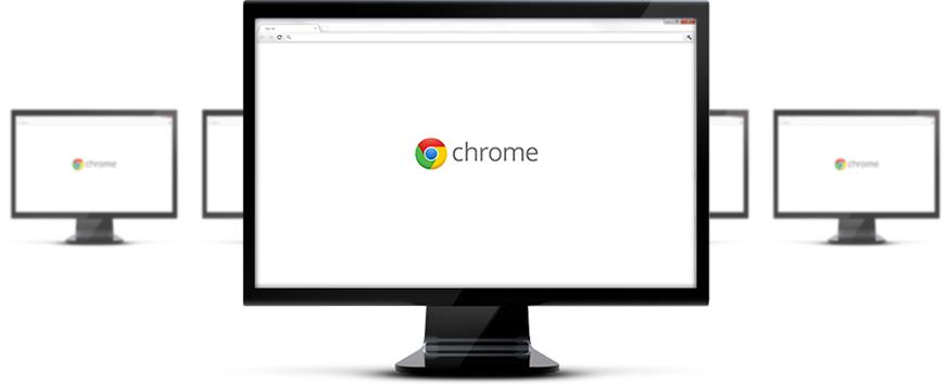 Google Chrome naršyklė įmonėms