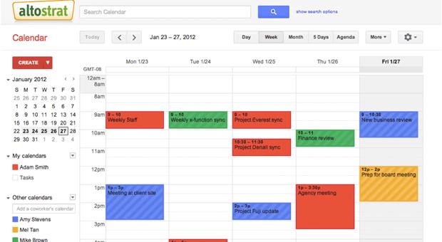 Darbo kalendoriai internete